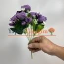 Mor Küçük Şakayık Çiçeği