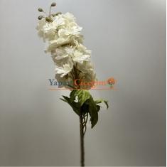 Beyaz Yapay Şebboy Çiçek Uzun Saplı Uzun Vazolar ve Süslemeler İçin