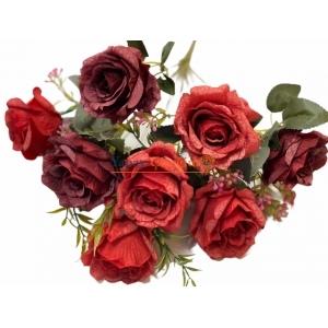 Kırmızı Yapay Çiçek Modelleri