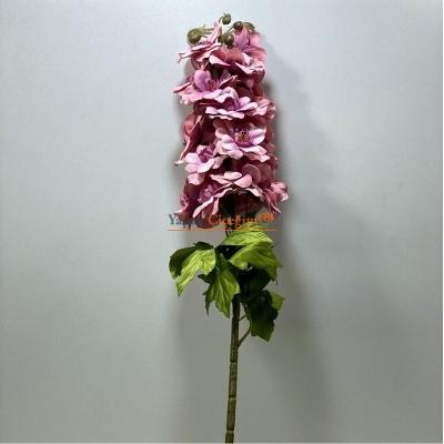 Pembe Yapay Şebboy Çiçek Uzun Saplı Uzun Vazolar ve Süslemeler İçin