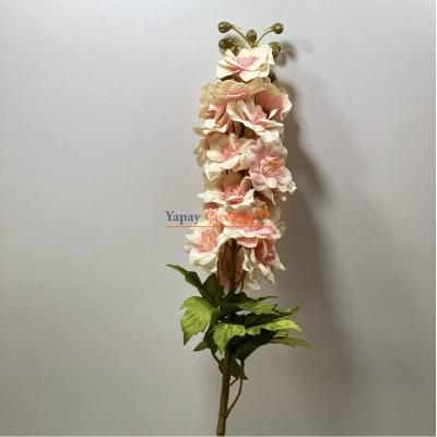 Turuncu Yapay Şebboy Çiçek Uzun Saplı Uzun Vazolar ve Süslemeler İçin