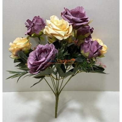 Kapı Süsü Süslemesi  İçin Yapay Çiçek - 2104