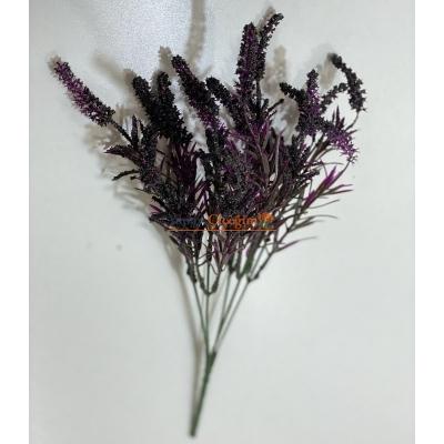 Siyah Lavanta Yapay Çiçek - 2154