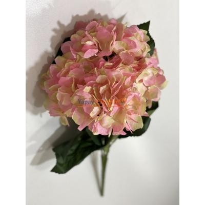 Uzun Vazo Çiçekleri - Ortanca - Pembe - 2175
