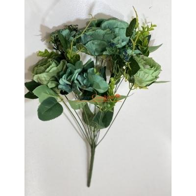 Yeşil Şakayık Yapay Çiçek Demeti 2208