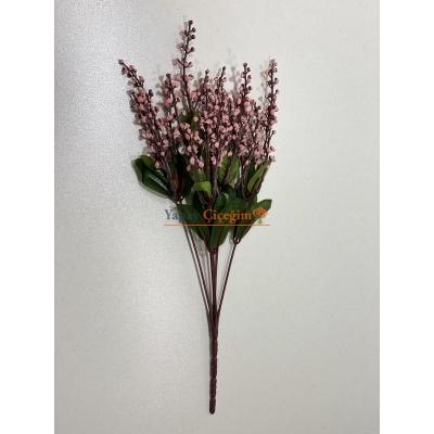Pembe Taş Lavanta - Yapay Çiçek - 2249
