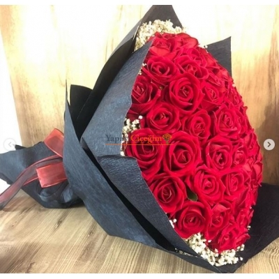 Kadife Gül İsteme Çiçeği 50 Adet li -  3000
