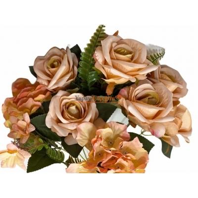 Turuncu Yapay Çiçek