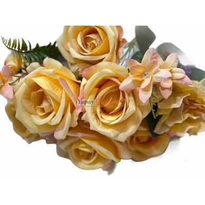 Sarı Yapay ÇiçekSarı Yapay Çiçek