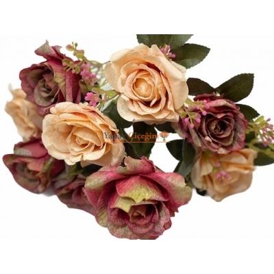 Turuncu yapay Çiçek Modelleri