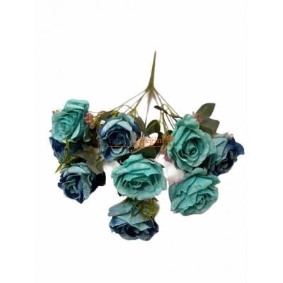 Mavi yapay Çiçek Modelleri