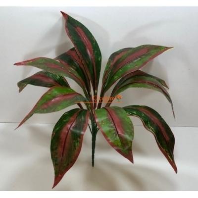 Büyük Yeşil ve Kırmızı Yaprak Demeti
