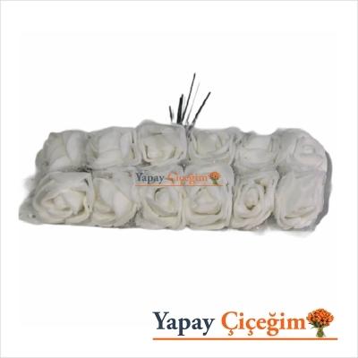 Beyaz Leteks Hamur Gül - 144 lü Paket