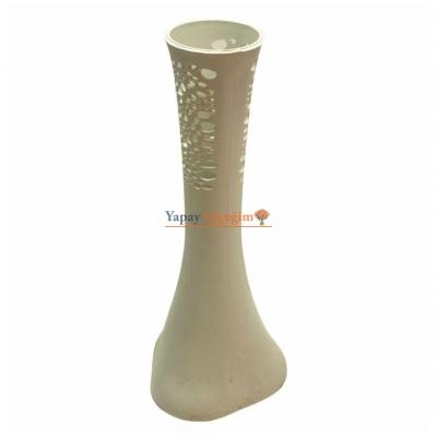 Küçük boy Plastik Fil Ayağı Vazo 40 cm