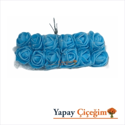 Mavi Lateks Hamur Gül - 144 lü Paket