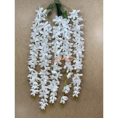 Beyaz Yapay Akasya Çiçegi