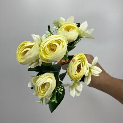 Krem Küçük Şakayık Çiçeği