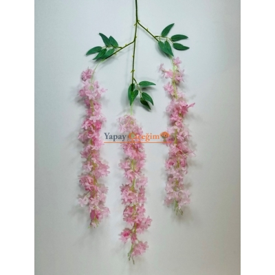 Yapay Sarkan Pembe Sümbül Çiçeği