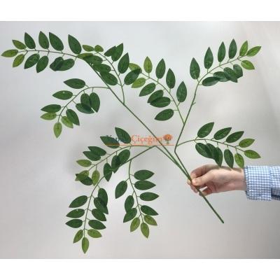 Küçük Kafalı Benjamin Ağacı Yaprağı Yapay Yaprak
